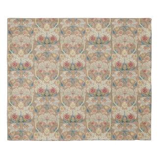 1875 Vintage William Morris Floral Embroidery Duvet Cover