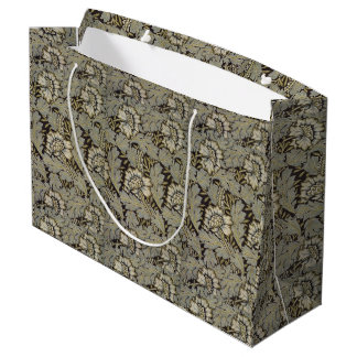 1876 Vintage William Morris  Anemone Large Gift Bag