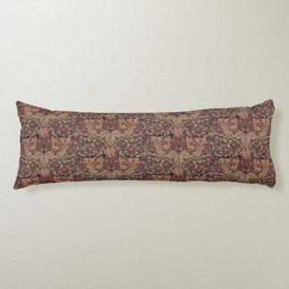 1876 Vintage William Morris Honeysuckle Body Pillow