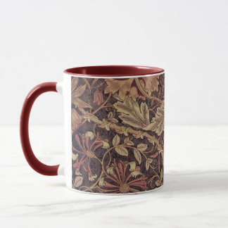 1876 Vintage William Morris Honeysuckle Mug