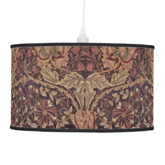 1876 Vintage William Morris Honeysuckle Pendant Lamp