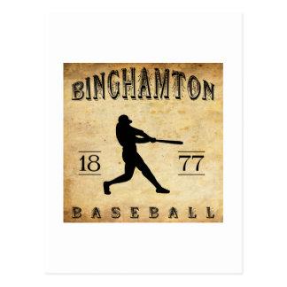 1877 Binghamton New York Baseball Postcard