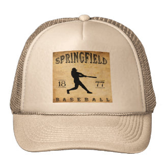 1877 Springfield Ohio Baseball Trucker Hat