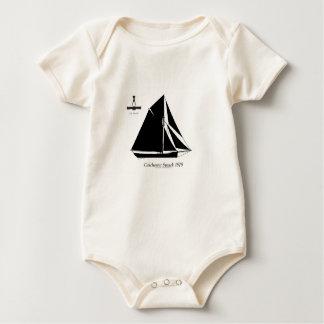 1878 Colchester Smack - tony fernandes Baby Bodysuit