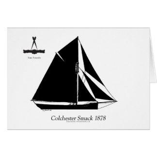 1878 Colchester Smack - tony fernandes Card