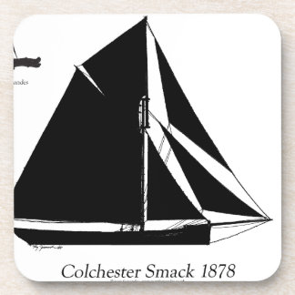1878 Colchester Smack - tony fernandes Coaster