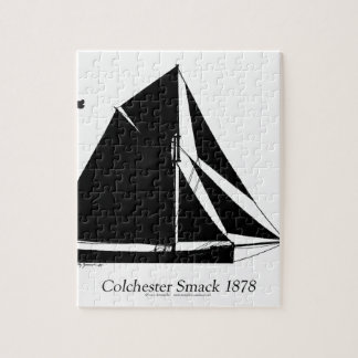 1878 Colchester Smack - tony fernandes Jigsaw Puzzle