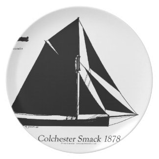 1878 Colchester Smack - tony fernandes Plate