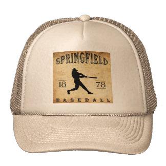 1878 Springfield Massachusetts Baseball Trucker Hat