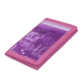 1879 Vintage Brooklyn Map Wallet in Purple