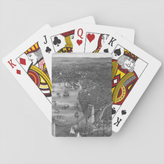 1879 Vintage Brooklyn Playing Cards in Black