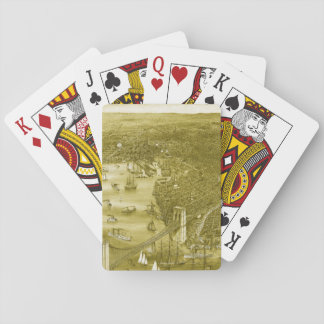 1879 Vintage Brooklyn Playing Cards in Yellow