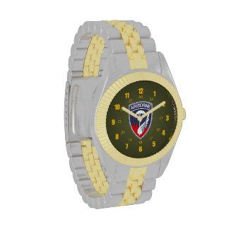 187 Airborne Rakkasans - Korean Vet Wristwatch