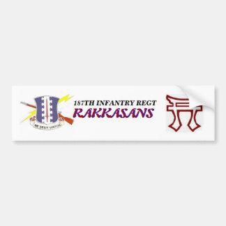 187TH INFANTRY  RAKKASANS TORRI Bumper Sticker