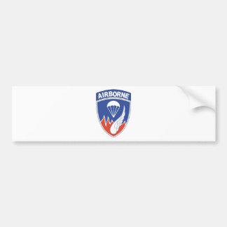 187th Infantry Regimental Combat Patch Bumper Sticker