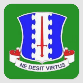 187th INFANTRY REGT DUI Stickers