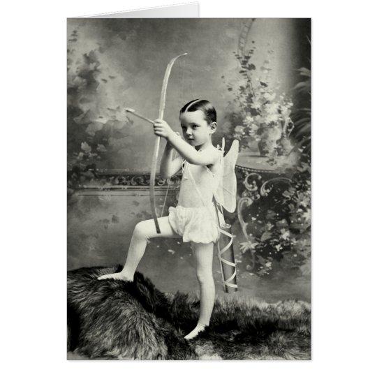 1880 Cupid at Work Card