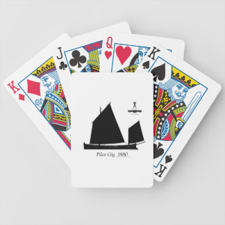 1880 Pilot Gig - tony fernandes Bicycle Playing Cards