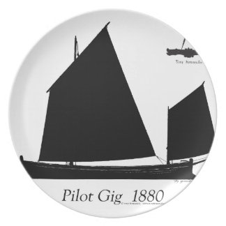 1880 Pilot Gig - tony fernandes Plate