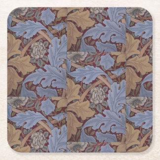 1880 William Morris St James Palace Wallpaper Square Paper Coaster