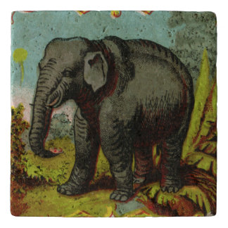 1880s Antique Elephant Trivet