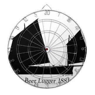 1881 Beer Lugger - tony fernandes Dartboard