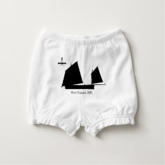 1881 Beer Lugger - tony fernandes Diaper Cover