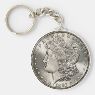 1881 morgan basic keychain