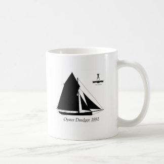1882 Oyster Dredger - tony fernandes Coffee Mug