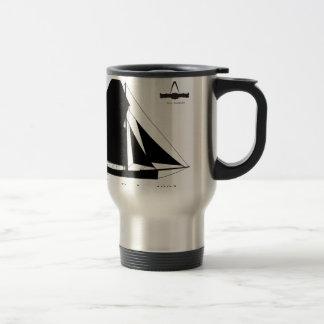 1882 Oyster Dredger - tony fernandes Travel Mug