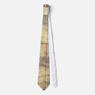 1883 Holt's New Map of Wyoming by Frank Bond Tie