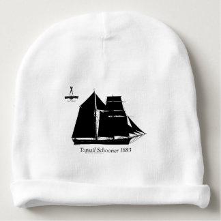 1883 topsail schooner - tony fernandes baby beanie