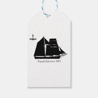 1883 topsail schooner - tony fernandes gift tags