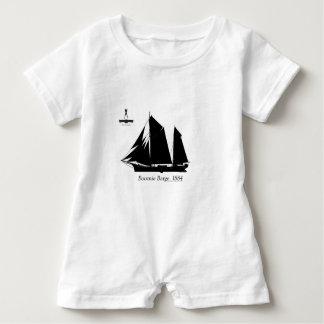 1884 Boomie barge - tony fernandes Baby Romper