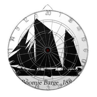 1884 Boomie barge - tony fernandes Dartboard