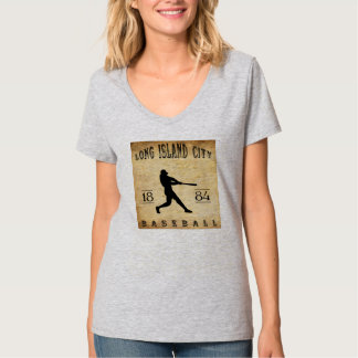 1884 Long Island City New York Baseball T-Shirt