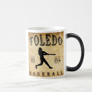 1884 Toledo Ohio Baseball Magic Mug