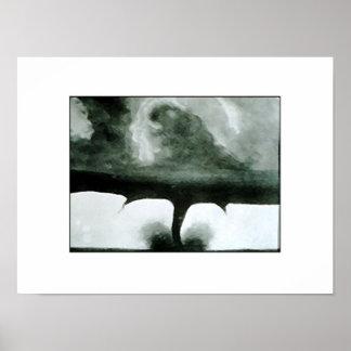 1884 Tornado Poster