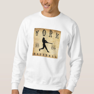 1884 York Pennsylvania Baseball Sweatshirt