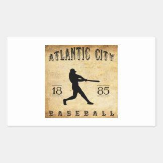1885 Atlantic City New Jersey Baseball Sticker
