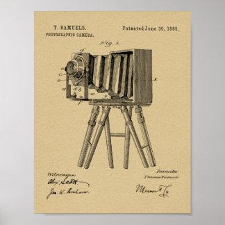 1885 Camera Patent Art Drawing Print