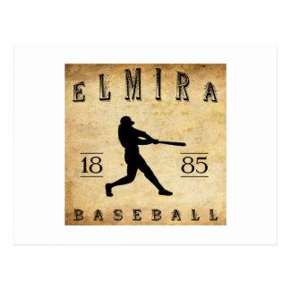 1885 Elmira New York Baseball Postcard