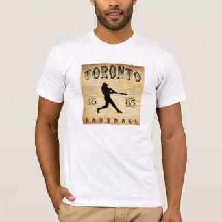 1885 Toronto Ontario Canada Baseball T-Shirt