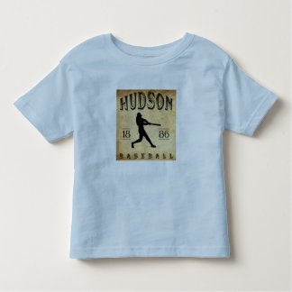 1886 Hudson New York Baseball Toddler T-shirt
