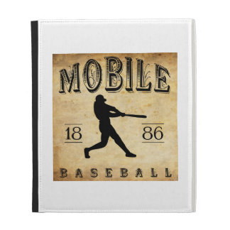 1886 Mobile Alabama Baseball iPad Cases