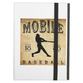 1886 Mobile Alabama Baseball iPad Covers