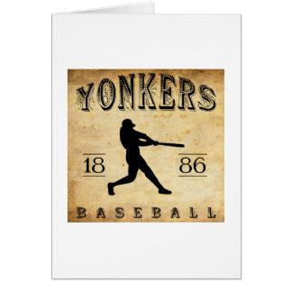 1886 Yonkers New York Baseball Card