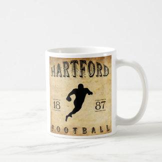 1887 Hartford Connecticut Football Coffee Mug