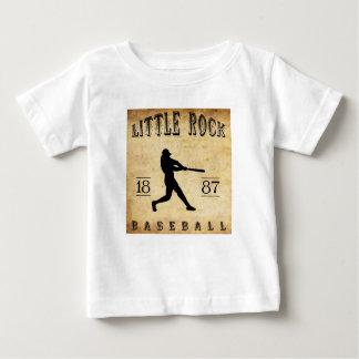1887 Little Rock Arkansas Baseball Baby T-Shirt
