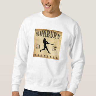 1887 Sunbury Pennsylvania Baseball Sweatshirt